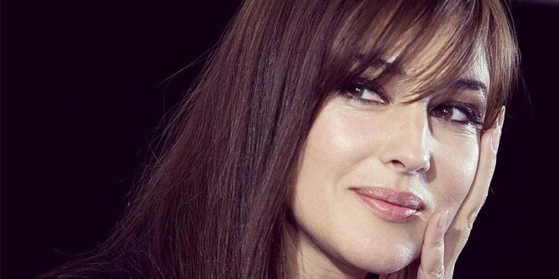 En photos: Monica Bellucci accueillie chaleureusement en Tunisie