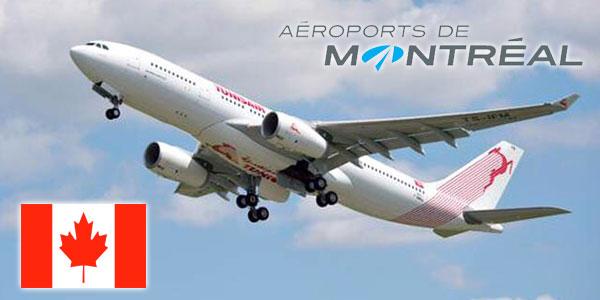 Aéroports de Montréal confirme la venue de Tunisair à partir du 18 Juin