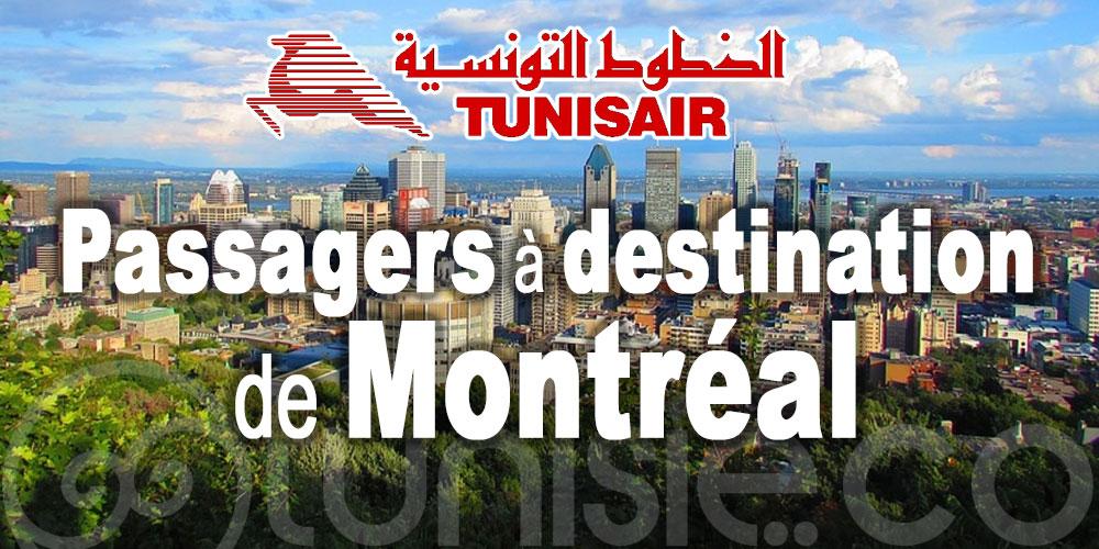 Tunisair : nouvelles restrictions pour les passagers à destination de Montréal