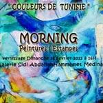 'Couleurs de Tunisie', exposition de Jo Ann Morning à partir du 26 février à Hammamet
