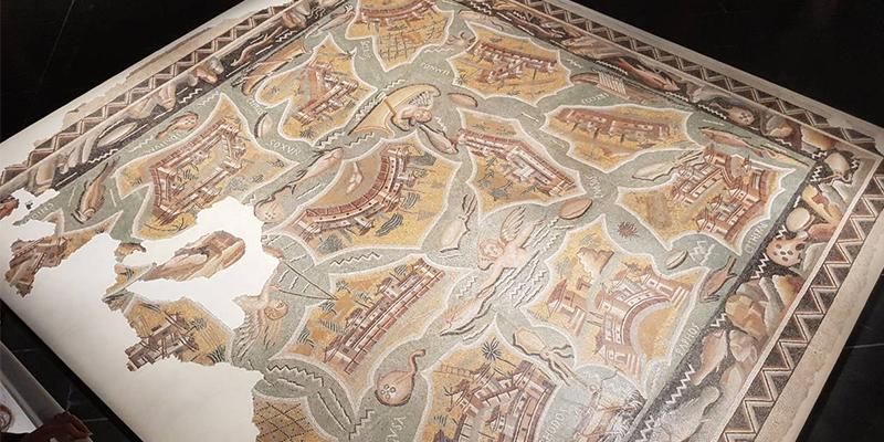 Exposition de la mosaïque des îles à Marseille