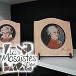 En Photos : Les mosaïstes d'El Jem à la conquête de Paris