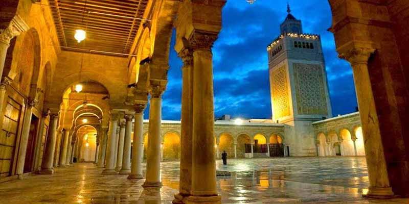 جامع الزيتونة: افتتاح معرض للمعالم الدينية الكبرى بمدينة تونس العتيقة