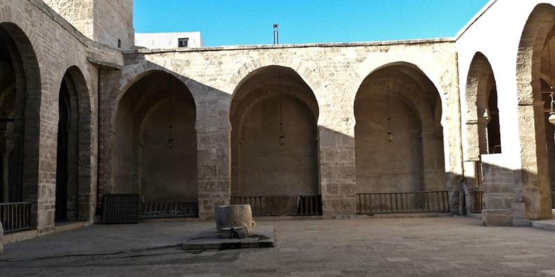 Travaux de restauration de la Grande Mosquée de Sfax