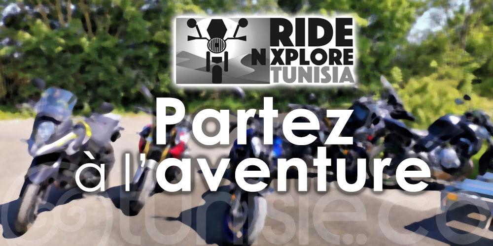 RIDE N XPLORE, un nouveau concept de tour à moto en Tunisie
