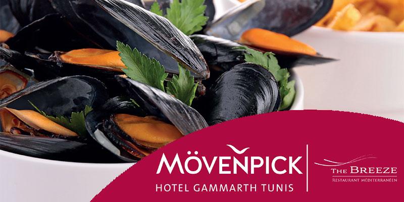 Festival de la Moule et la cuisine Belge au Mövenpick Gammarth du 15 au 28 avril