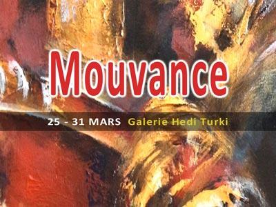Mouvance : Exposition solo l'artiste Janick Ericksen du 25 au 31 mars à Sidi Bou Saïd