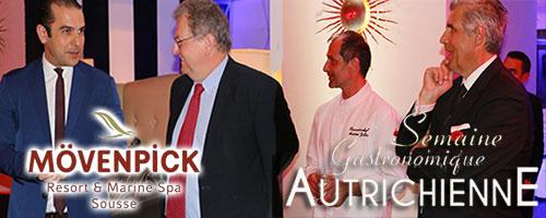 En vidéos : Ouverture de la Semaine Gastronomique Autrichienne à l'hôtel Mövenpick Sousse