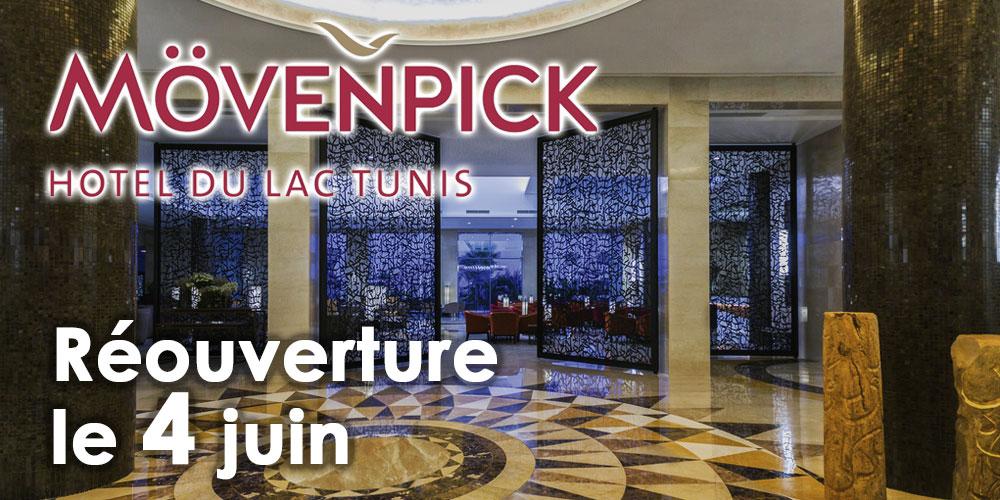 Le Mövenpick Hotel du Lac Tunis réouvrira ses portes le 4 juin 2020!