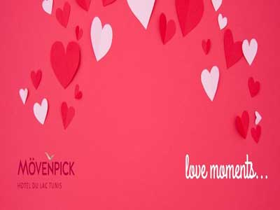 Mövenpick Hotel du Lac Tunis : Love moments offers