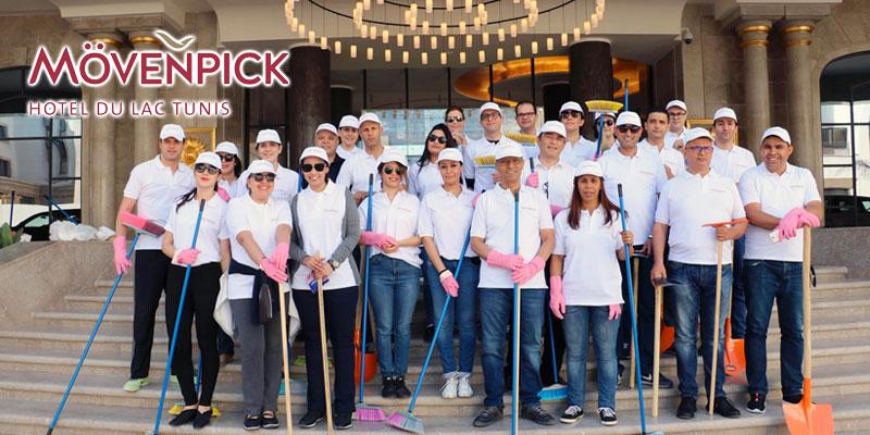 En vidéo : Le Mövenpick Hotel du Lac Tunis célèbre la Journée mondiale de l'environnement