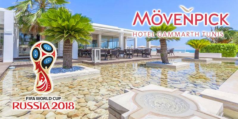 La FIFA World Cup 2018 au Mövenpick Hotel Gammarth Tunis