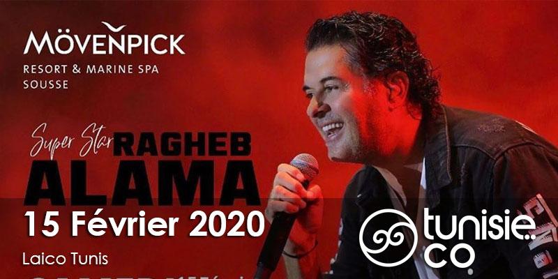 Saint Valentin 2020 avec Ragheb Alama le 15 Février