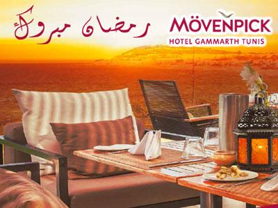 Le Mövenpick Hotel Gammarth Tunis accueille le mois saint  de Ramadan sous le signe de l'innovation