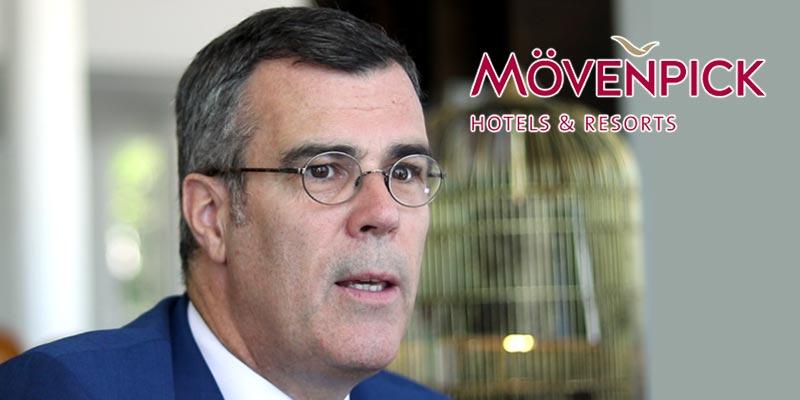Olivier Chavy CEO du Mövenpick Hotels : Je crois beaucoup au futur de la Tunisie