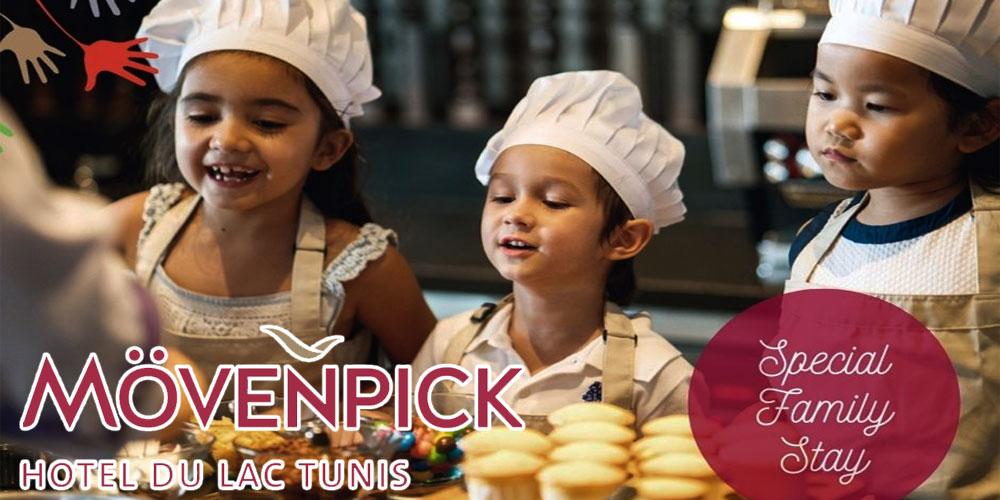 Profitez de la nouvelle offre ''Special Family stay'' du Mövenpick Hotel du Lac Tunis