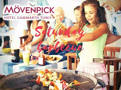 Les 'Saturday barbecue' tous les samedis au Movenpick Gammarth