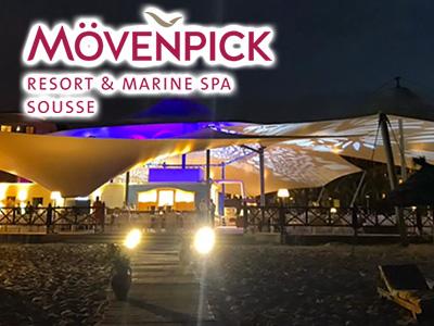 Ouverture nocturne du Levant Grill au Mövenpick Resort Sousse