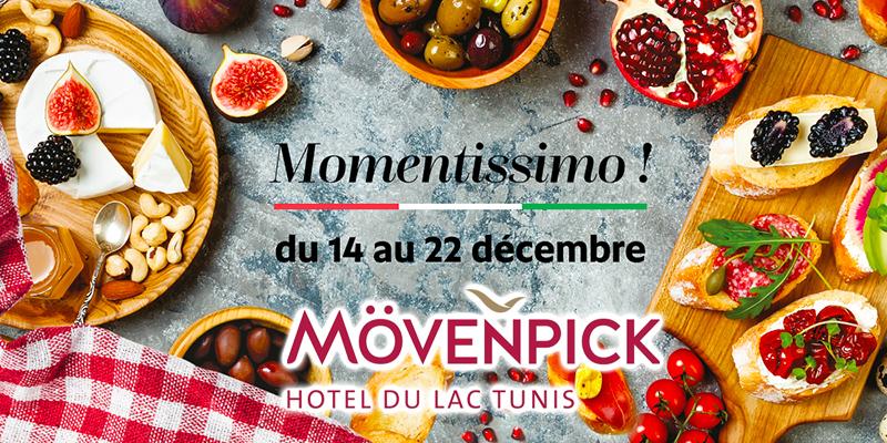 La « Semaine gastronomique italienne » démarre au Mövenpick Hotel du Lac Tunis.