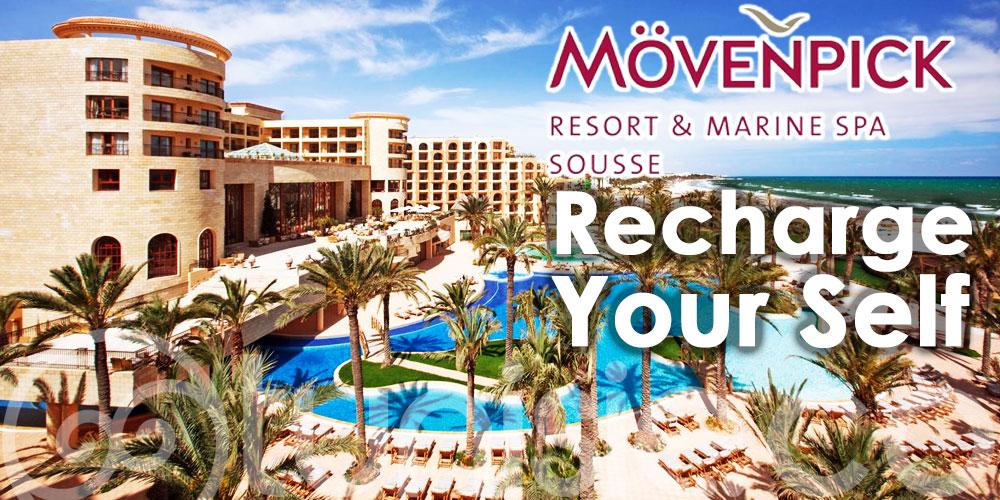 Recharge Your Self, la nouvelle offre exceptionnelle du Mövenpick Sousse