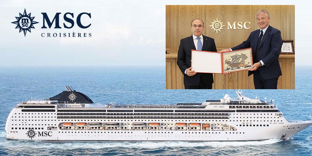 MSC effectuera 27 escales au port de Tunis La Goulette