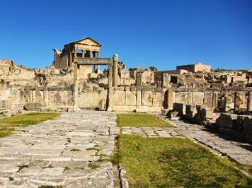 40 musées et 1200 sites historiques font la richesse de la Tunisie
