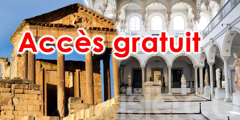 Accès gratuit aux musées, sites et monuments historiques ce vendredi, 15 octobre 2021