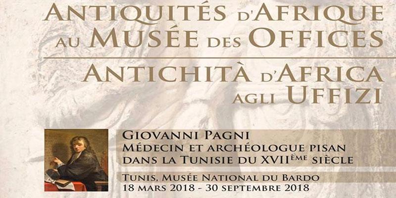 Exposition ''Antiquités d'Afrique au Musée des Offices'' du 20 mars au 25 septembre au Musée du Bardo