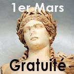 Gratuité des musées et des monuments dimanche 1er mars 2015