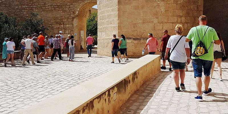 En photos: Le Musée archéologique de Sousse retrouve ses touristes