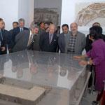 Des diplomates accrédités à Tunis en visite au musée national du Bardo