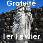 Gratuité des musées et des monuments, dimanche 1er février 2015