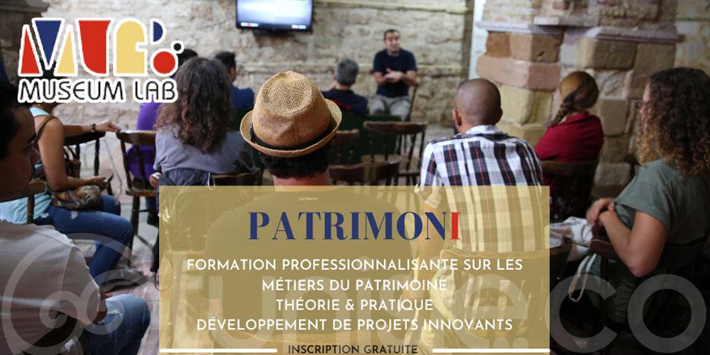 Appel à candidatures FORMATION '' PATRIMONI '' Par Museum Lab au Kef
