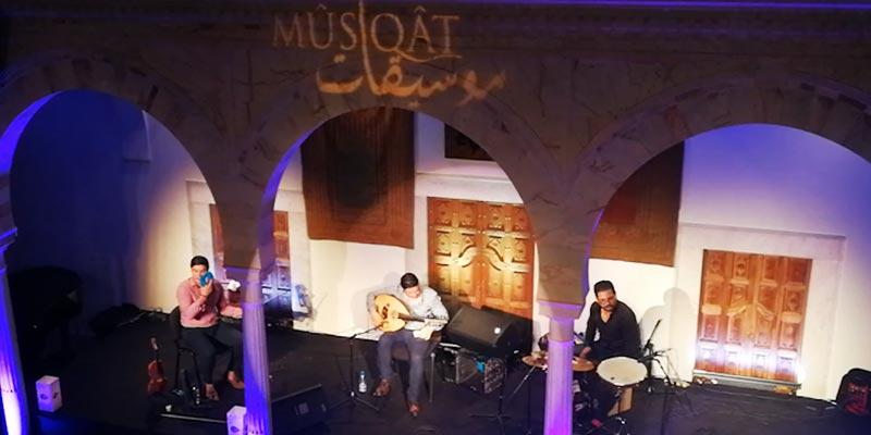 En vidéo : Les frères Béchir et Mohamed El-Gharbi sur la scène du festival Mûsîqât