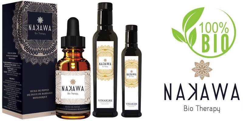 Découvrez Nakawa BIO, la marque tunisienne de produits Bio à l'huile de figue de barbarie