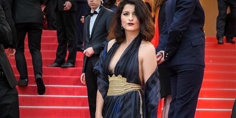Anissa Daoud, encore une belle Naksha tunisienne à Cannes