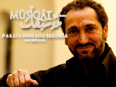 NASEER SHAMMA au festival Mûsîqât le 6 Octobre à Ennejma Ezzahra
