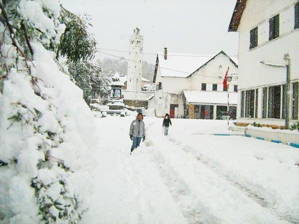 En photos admirez la beaut de la tunisie sous la neige - Port barcares meteo 7 jours ...