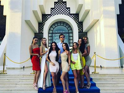En photos : Nina Serebrova de retour à Djerba avec 6 top modèles russes pour le Tourisme