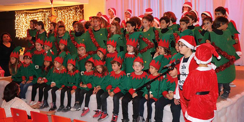 En vidéo : La fête de Noël de l'école George Sand Nabeul