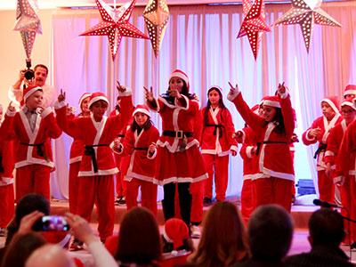 En vidéo : La fête de NoÃ«l de l'école George Sand Nabeul