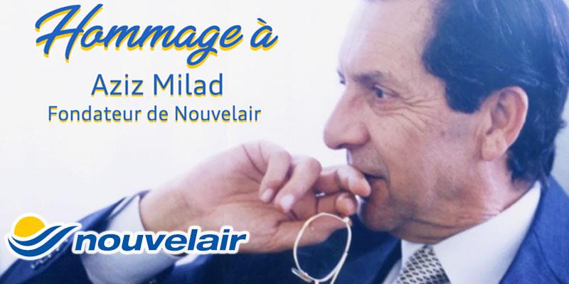 Nouvelair Tunisie rend un vibrant hommage à son fondateur Aziz Miled