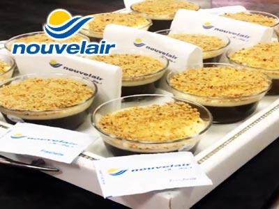 En vidéo : Nouvelair fête le Mouled avec des bols d'Assida pour ses passagers