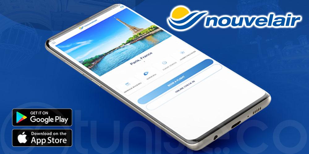 Toutes les destinations à portée de main avec l'application Nouvelair
