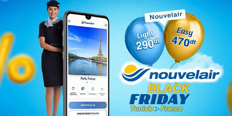 Chaque Vendredi, Réservez le Tunis Paris à partir de 290dt chez Nouvelair