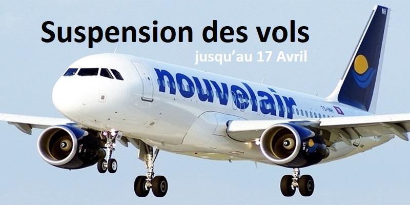 Nouvelair suspend ses vols vers la Tunisie jusqu'au 17 Avril
