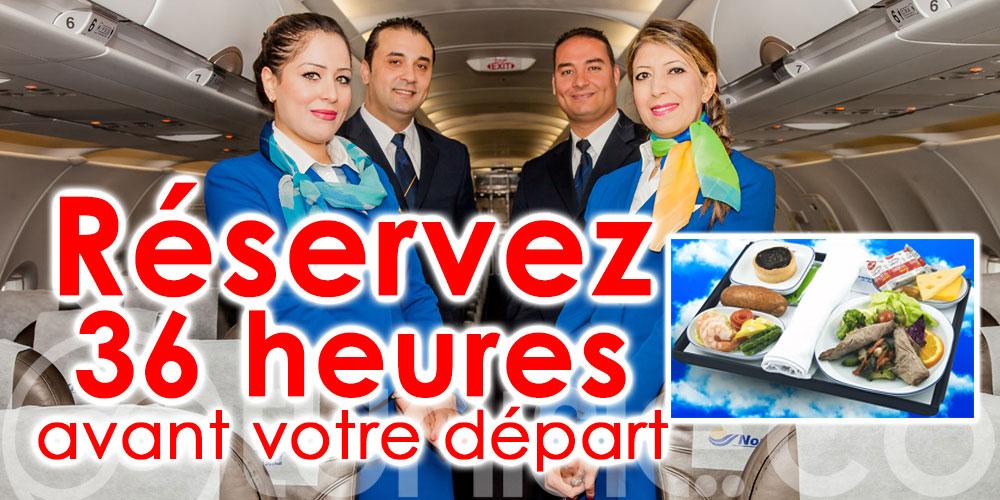 Vivez une expérience gastronomique inédite dans les airs sur Nouvelair