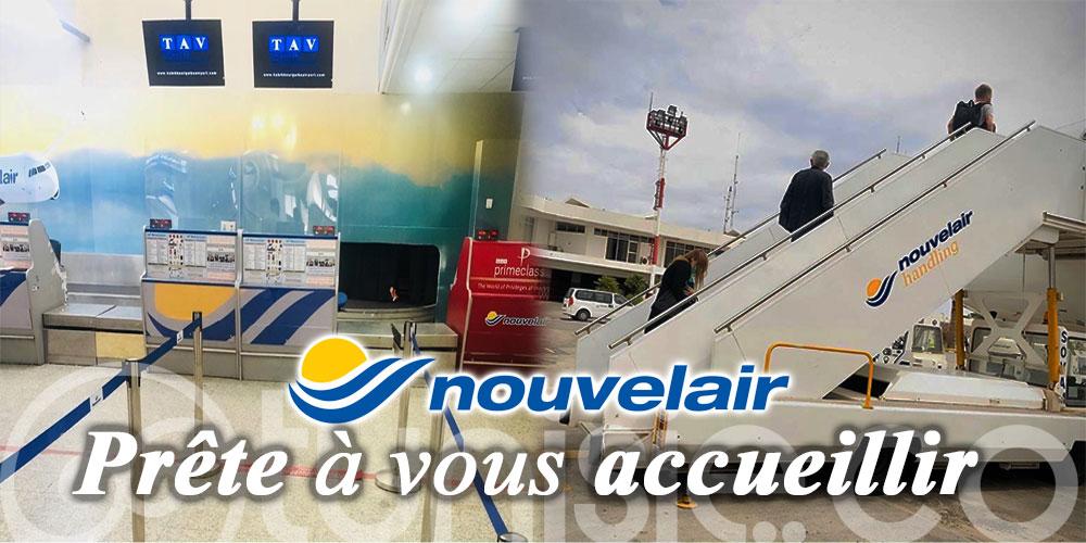 L'agence Nouvelair à l'aéroport de Monastir prête à vous accueillir