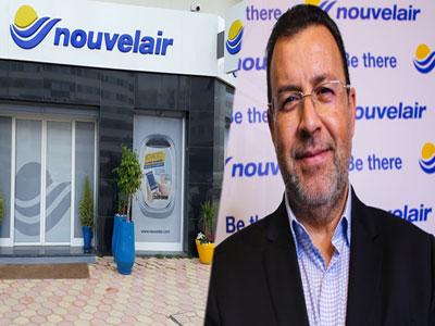 Chokri Zarrad parle de la nouvelle agence de ''Nouvelair'' au centre Urbain Nord à Tunis