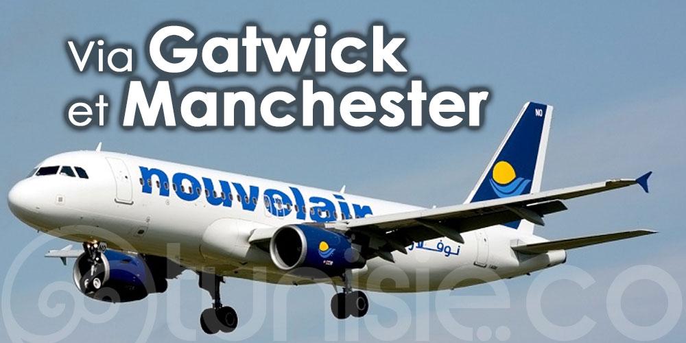 Nouvelair reliera la Tunisie au Royaume-Uni via Gatwick et Manchester